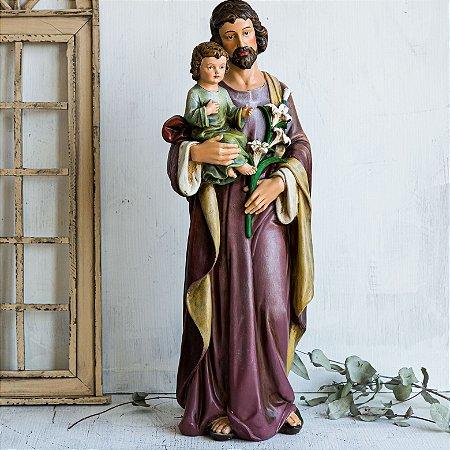 Imagem de São José com Menino Jesus (GG)