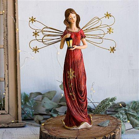 Anjo da Paz com Lanterna