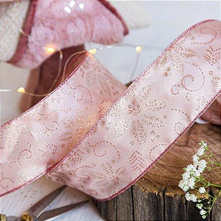 Fita Decorativa Rosa