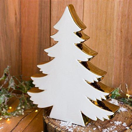 Árvore de Natal Decorativa em Cerâmica (G)