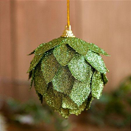 Bola Decorada Verde - TRIO