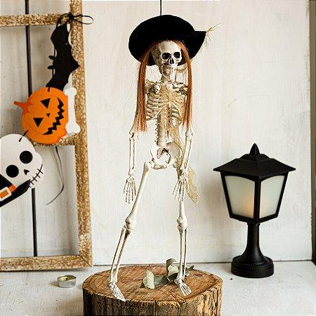 Esqueleto com Chapéu