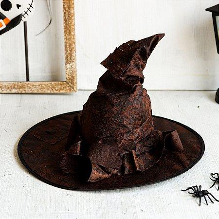 Chapéu Marrom estilo Harry Potter
