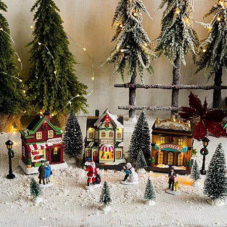 Vila de Natal com 17 peças
