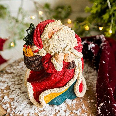 Papai Noel Vintage e Árvore de Natal