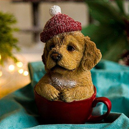Cachorrinho Labrador na Xícara