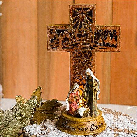 Cruz da Paz com a Sagrada Família