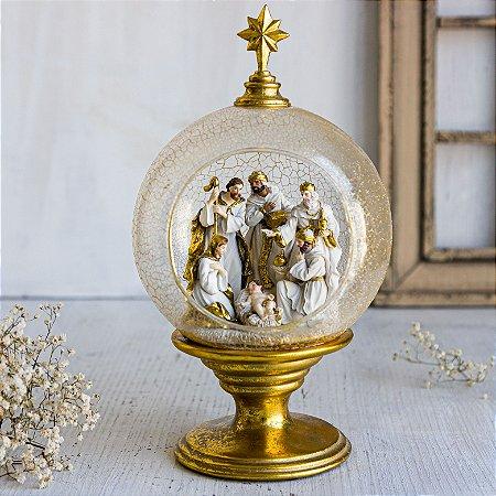 Imagem O Nascimento do Menino Jesus no Globo