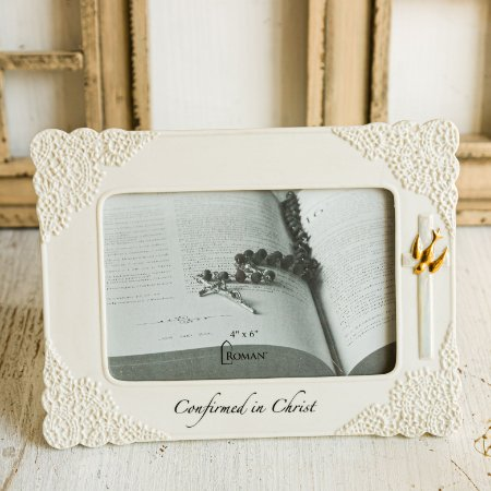 Porta Retrato de Porcelana Batismo