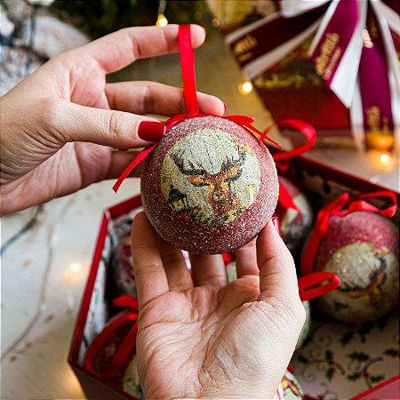 Bola Classic Christmas Bichinhos