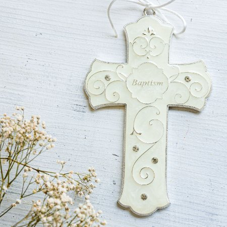 Enfeite Cruz de Batismo
