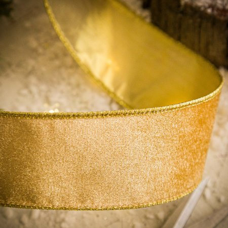 Fita Veludo Gold