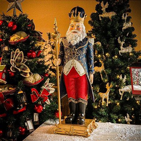 Papai Noel Luxo com Base