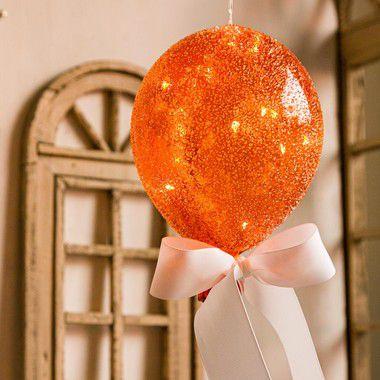 Luminaria Balão Açucarado Laranja (G)