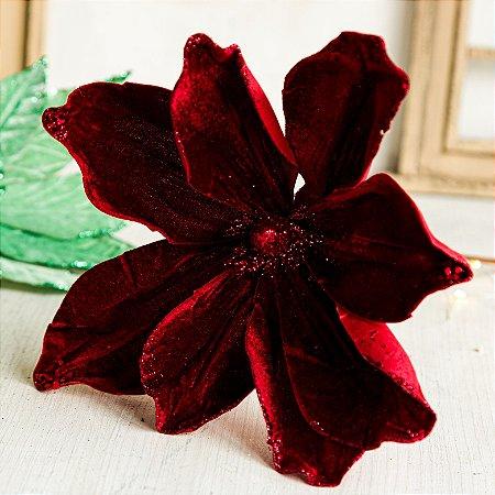 Flor Magnolia Decorativa