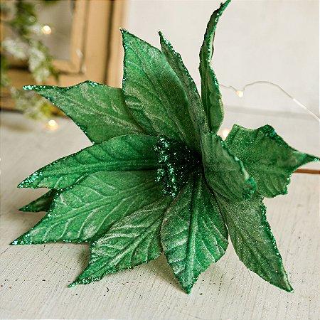Poinsetia Decorativa Verde