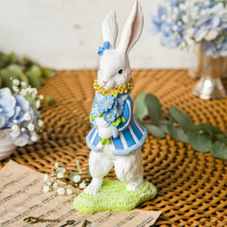 Coelha Petit com Florzinha Azulzinha