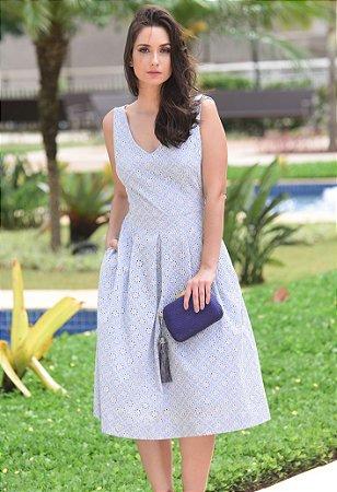 Vestido Midi Lese Amissima - Azul