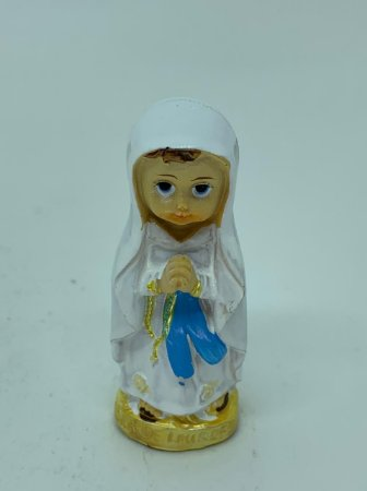 Nossa Senhora de Lourdes Infantil 7,5cm (8264)