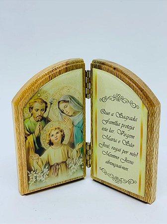 Mini devoção de mesa - Sagrada Família (3730)