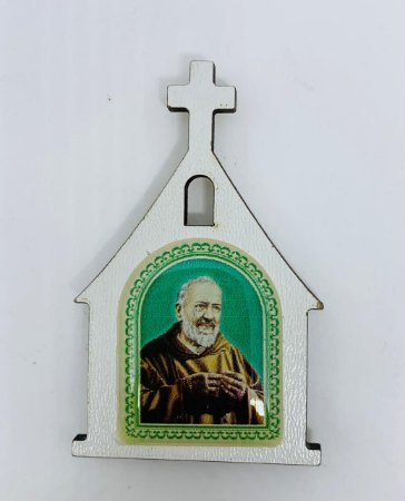 Imã de Geladeira Santuário - São Padre Pio (7218)