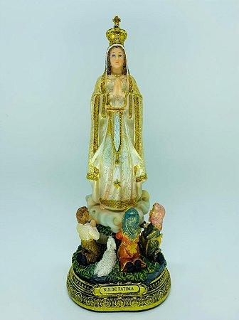Nossa Senhora de Fátima com Pastores 31cm (7337)
