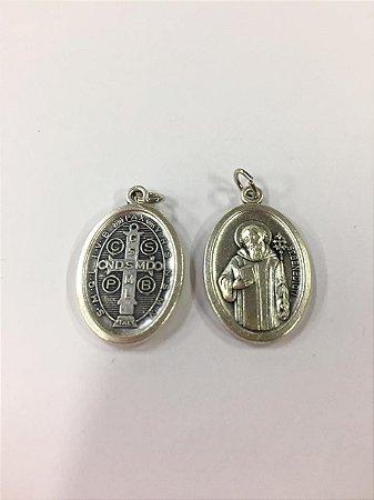 Medalha Italiana São Bento Oval (8327)