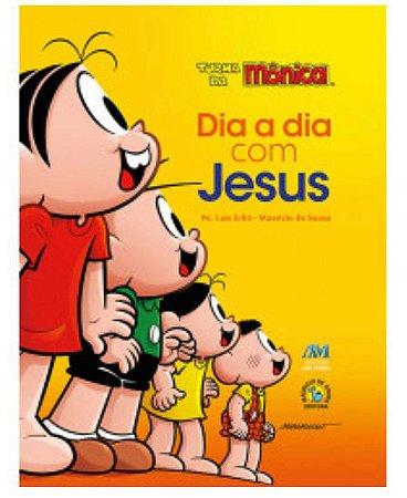 Dia a dia com Jesus - Turma da Mônica | Almofadada (7495)