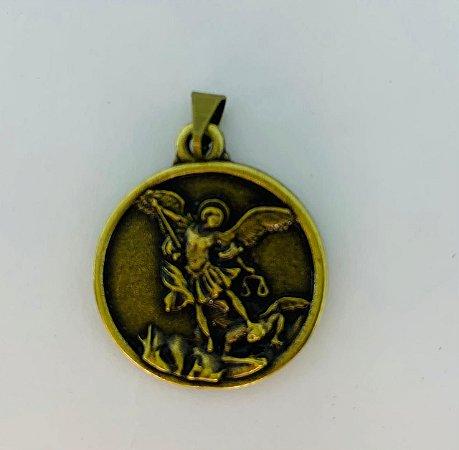 Medalha São Migue Redonda OV (6815)