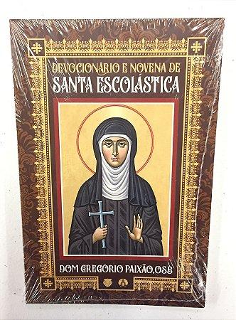 Devocionário e Novena de Santa Escolástica (8377)
