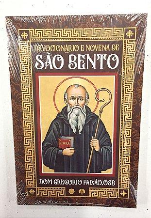 Devocionário e Novena de São Bento (8378)