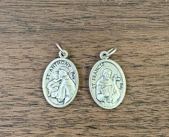 Medalha Italiana Santo Antônio / São Francisco (8327)