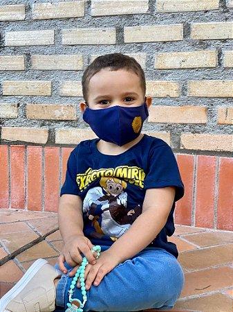 Camiseta Exército Mirim + mascara / Cor: AZUL | Instituto Hesed