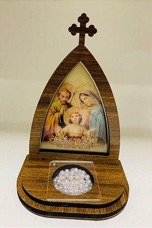 Capela com porta terço - Sagrada Família (8282)