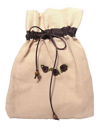 Bolsa de Tecido para Véu