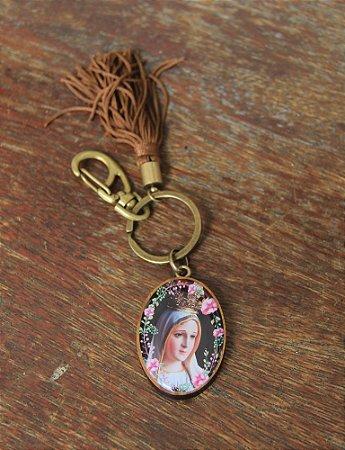 Chaveiro Nossa Senhora de Fátima -7691
