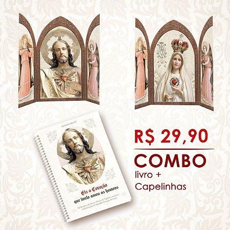 COMBO - Livro e Capelinhas dos Sagrados Corações