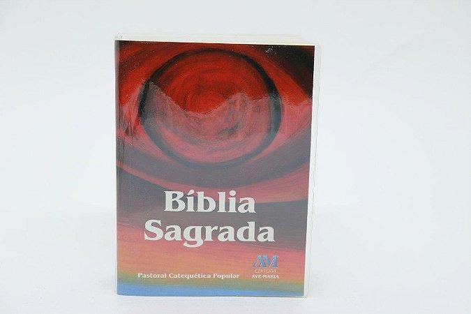 Bíblia Sagrada Ave-Maria Pastoral Catequética Popular Bolso (2385)
