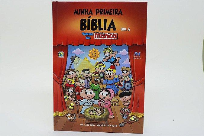 Minha primeira Bíblia com a turma da Mônica - grande (3131)