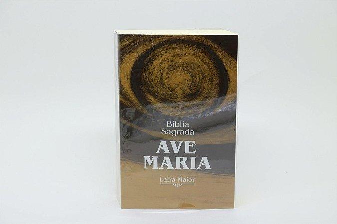 Bíblia Sagrada Ave-Maria Letra maior Brochura (6082)