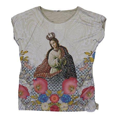 Camiseta babylook Imaculada Conceição