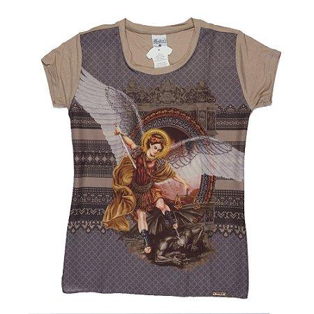 Camiseta babylook São Miguel