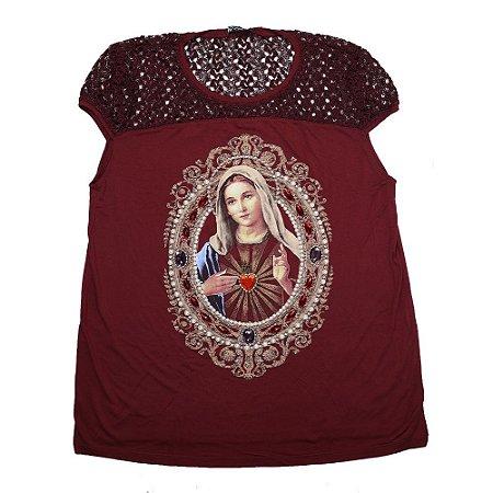 Camiseta bata Imaculado Coração