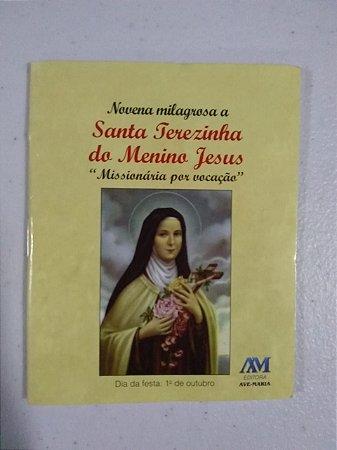 """Novena milagrosa a Santa Terezinha do Menino Jesus """"Missionária por vocação"""""""