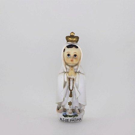 Nossa Senhora de Fátima bebê 12 cm (7627)