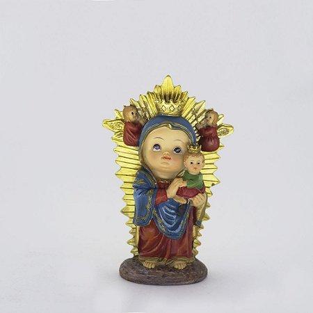 Nossa Senhora Perpétuo Socorro bebê 10 cm (1600)