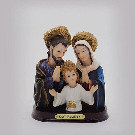 Sagrada Família de Nazaré busto 12 cm (0149)