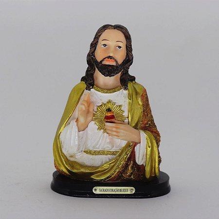 Sagrado Coração de Jesus busto 12 cm (4387)