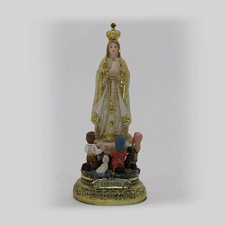 Nossa Senhora de Fátima 15 cm