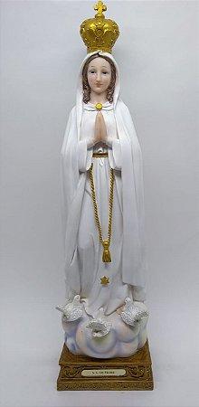 Nossa Senhora de Fátima resina 48 cm (7027)